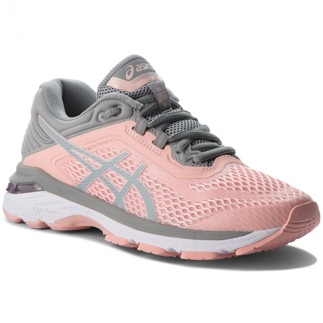 Schuhe ASICS       ASICS                                               GT-2000 6 T855N Frosted Rose/Stone Grau 700 82613d