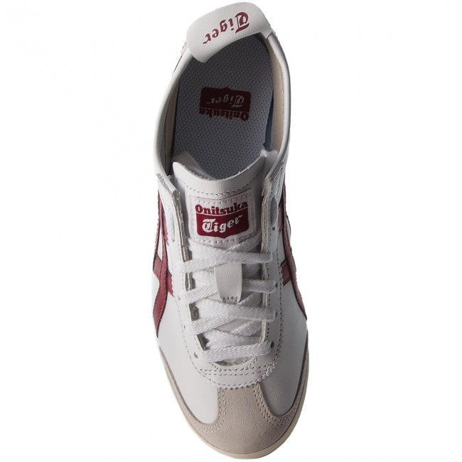 Sneakers ASICS                                                      ONITSUKA TUGER Mexico 66 D4J2L  Weiß/Burgundy 0125 03432e
