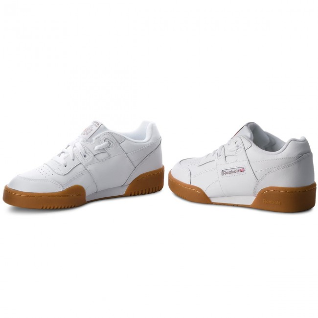 Schuhe Reebok                                                    Workout Plus CN2243 White/Carbon/Red Gum