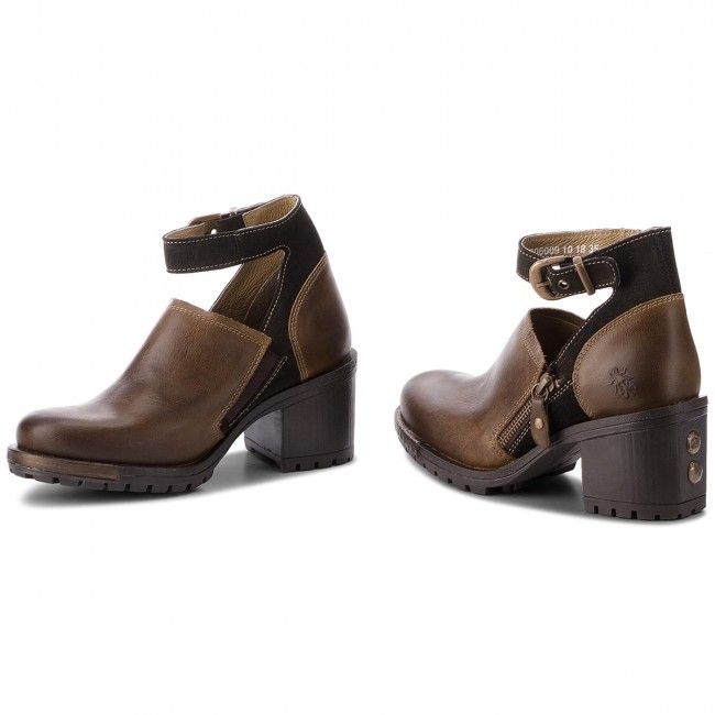 Halbschuhe FLY LONDON                                                      Lepufly P144306009 Olive/Olive db4a4b