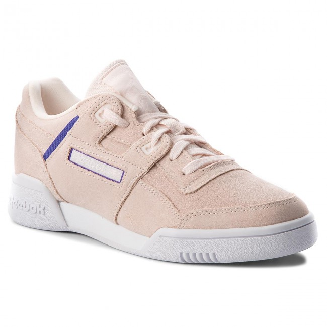 Schuhe Reebok                                                    Workout Lo Plus CN5524 Pale Pink/Purple/White