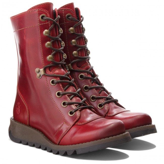 Stiefeletten FLY LONDON                                                      Sitefly P144360004 ROT 9205b9
