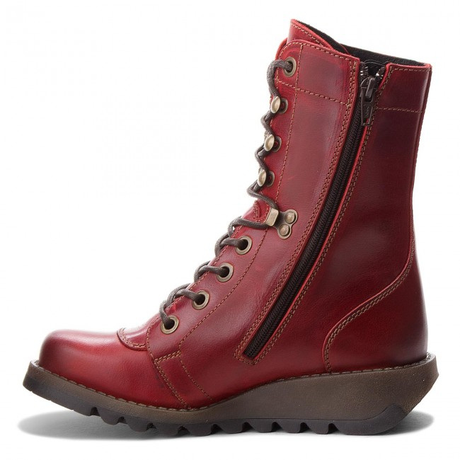 Stiefeletten FLY LONDON                                                      Sitefly P144360004 ROT 6c9c65
