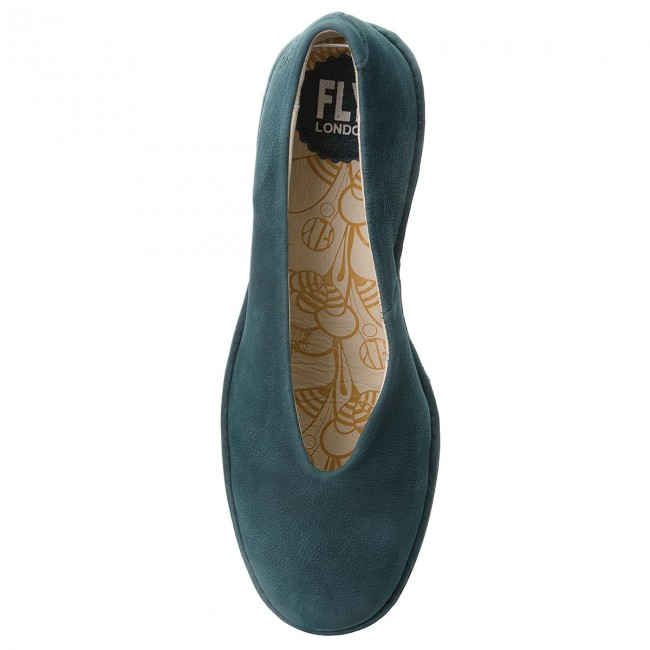 Halbschuhe FLY LONDON                                                      Yaz P500025220 Deep Teal d9b824
