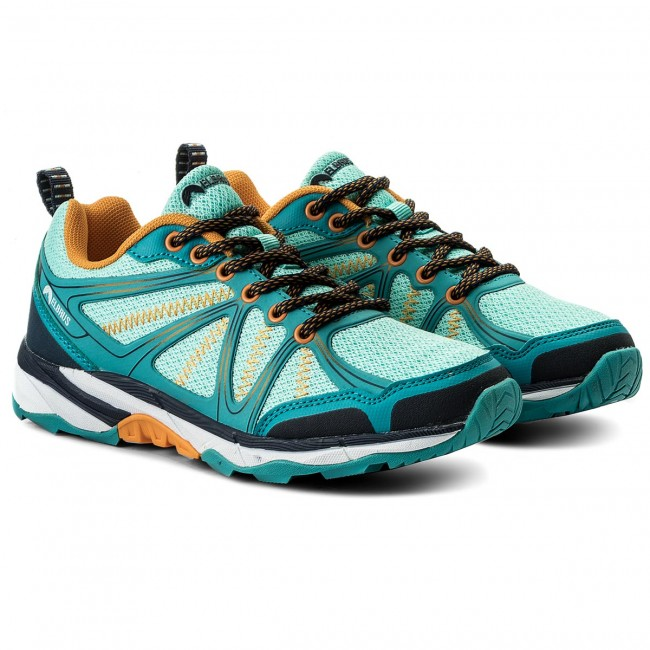Trekkingschuhe ELBRUS - Pinelas Wo's Turquoise/Light Turquoise/Navy/Orange mtUfG4l