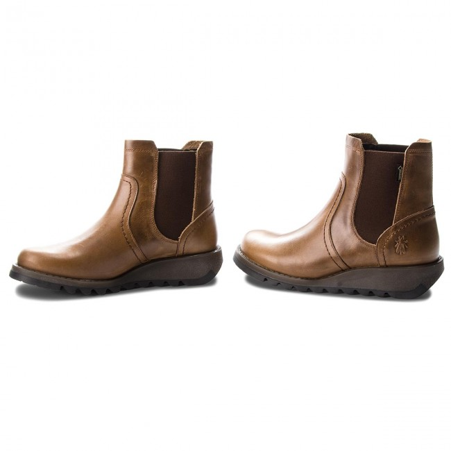 Stiefeletten FLY LONDON                                                      Sconfly GORE-TEX P144058002 Camel 5ce716