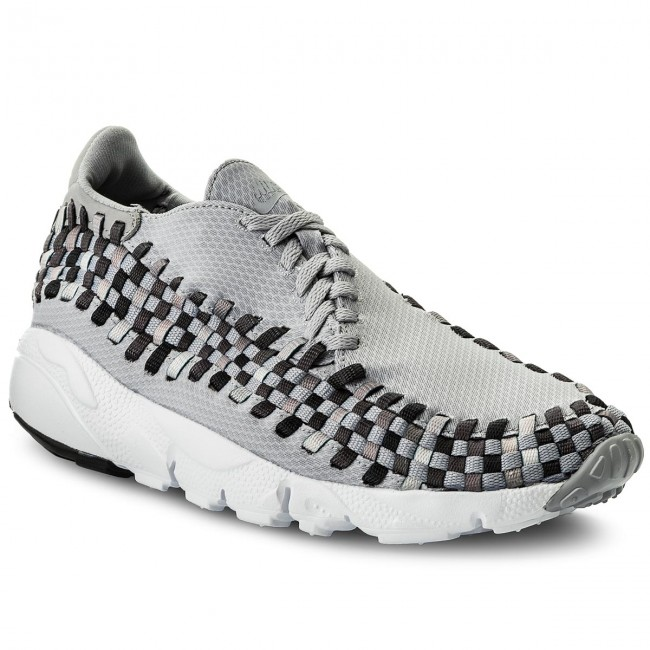 Schuhe NIKE-Air Footscape Woven Nm 875797 004 Wolf Grey/Black/Dark Grey