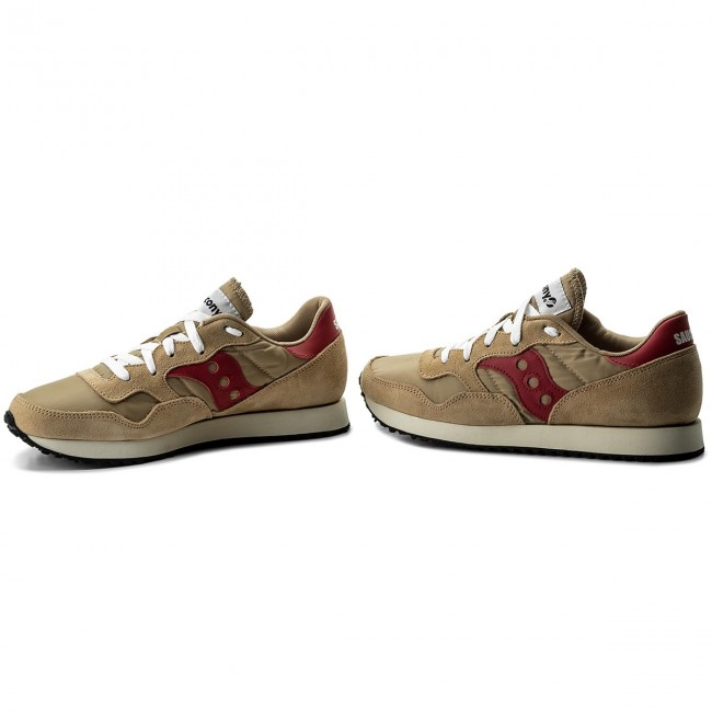 Sneakers SAUCONY-Dxn SAUCONY-Dxn Sneakers Trainer Vintage S70369-16 Tan/ROT 0ce21e