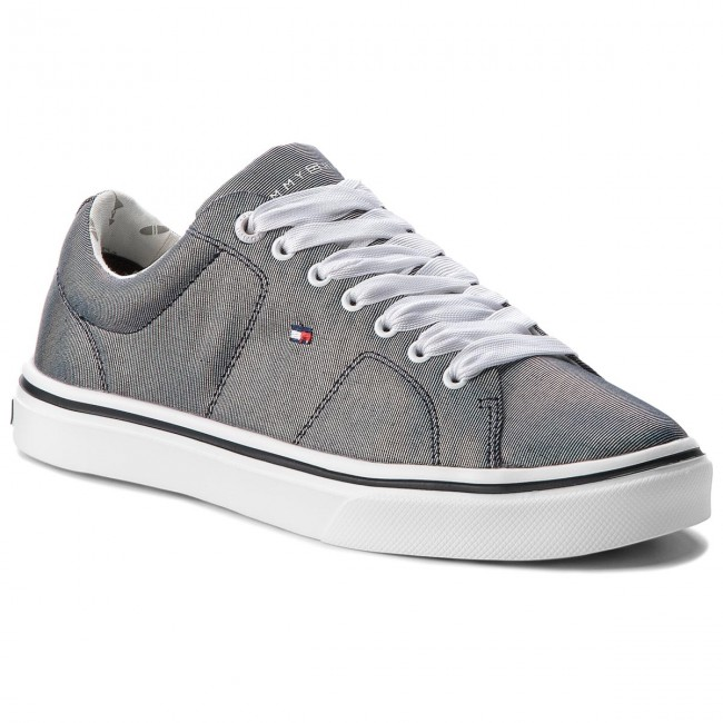 Sneakers TOMMY HILFIGER Metallic Light Weight Lace Up FW0FW03028 Midnight 403