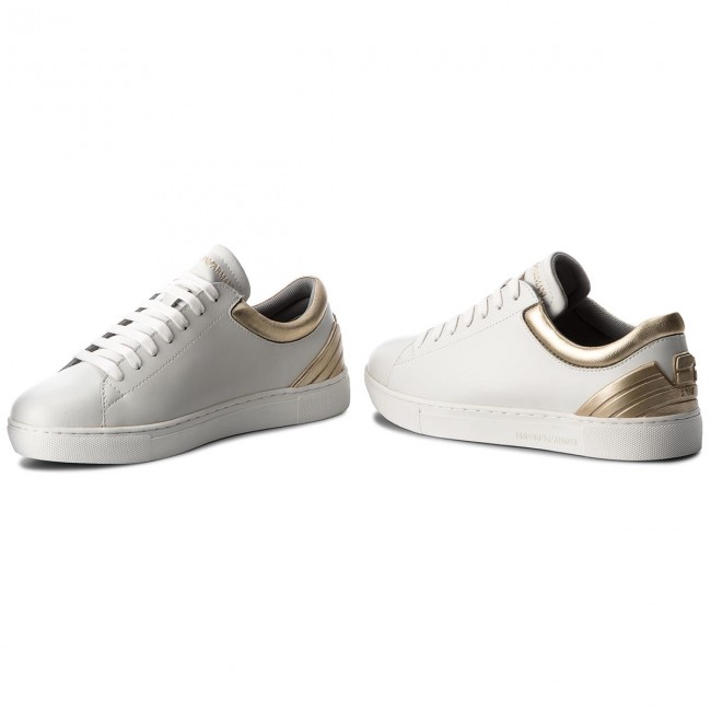 Sneakers EMPORIO ARMANI                                                      X3X043 XL482 P461 Opt.Weiß/Gold 94a65e