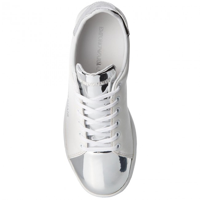 Sneakers  EMPORIO ARMANI    Sneakers                                                 X3X061 XL514 00175 Weiß/Silver c7c7ab