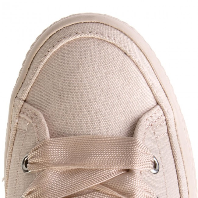 Sneakers TOMMY HILFIGER                                                      Pastel Mid Flatform Sneaker FW0FW02985 Silver Peony 642 1e9278