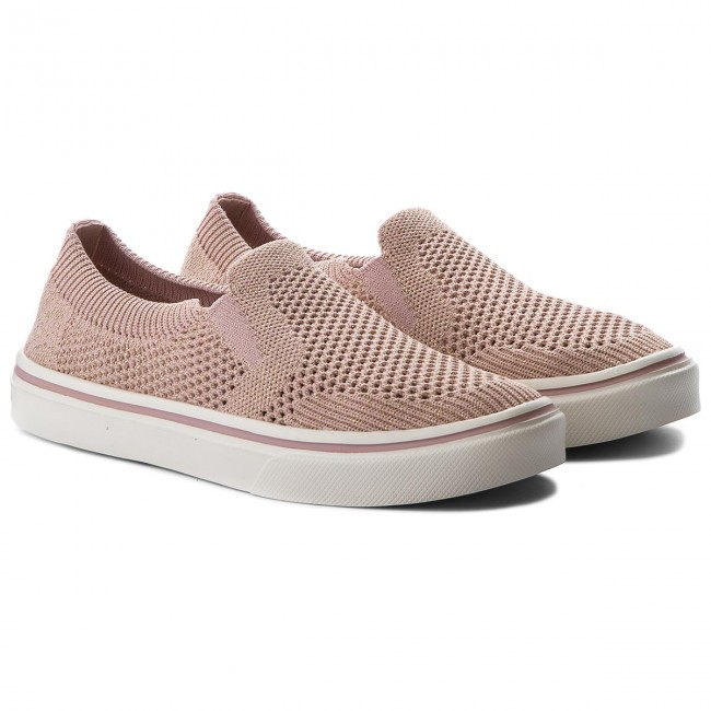Turnschuhe TOMMY HILFIGER                                                      Knitted Light Weight Slip On FW0FW03361 Dusty Rose 502 eac699