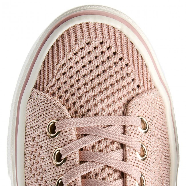 Turnschuhe TOMMY HILFIGER                                                      Knitted Light Weight Lace Up FW0FW03362  Dusty Rose 502 2c979e
