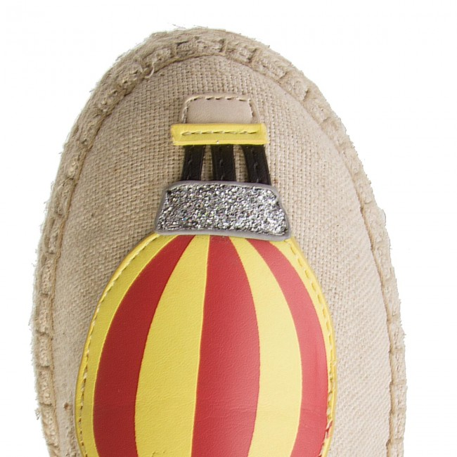 Espadrilles TOMMY HILFIGER                                                      Patch Espadrille Balloon FW0FW03549 Tapioca 639 82f168