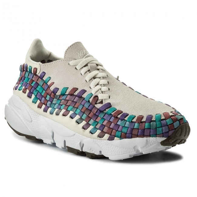 Schuhe NIKE                                                    Air Footscape Woven 917698 100 Sail/White/Red Stardust