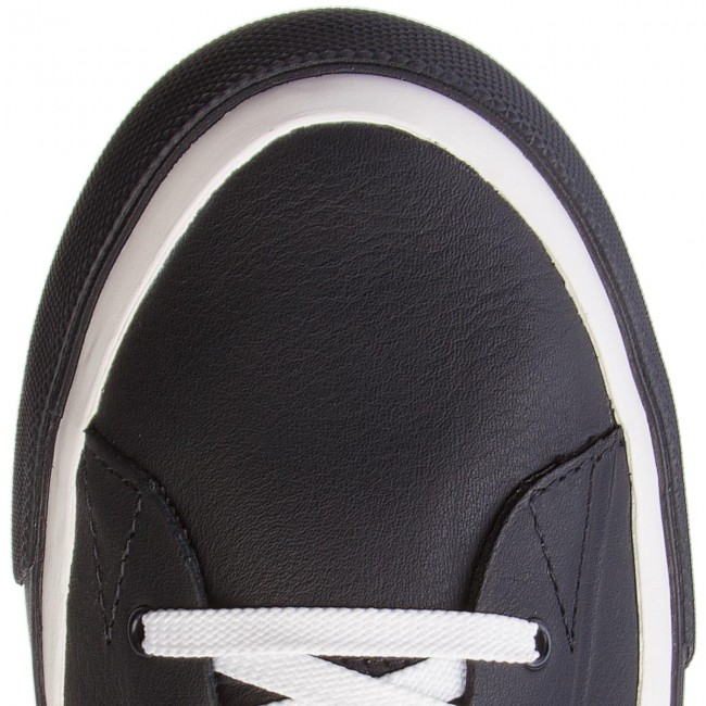 Sneakers TOMMY HILFIGER-Unlined Niedrig Midnight Cut Leder Sneaker FM0FM01627 Midnight Niedrig 403 bf8473