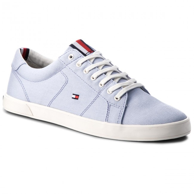 Turnschuhe TOMMY HILFIGER-Iconic Long Lace Sneaker FM0FM01669 Halogen Blue 425