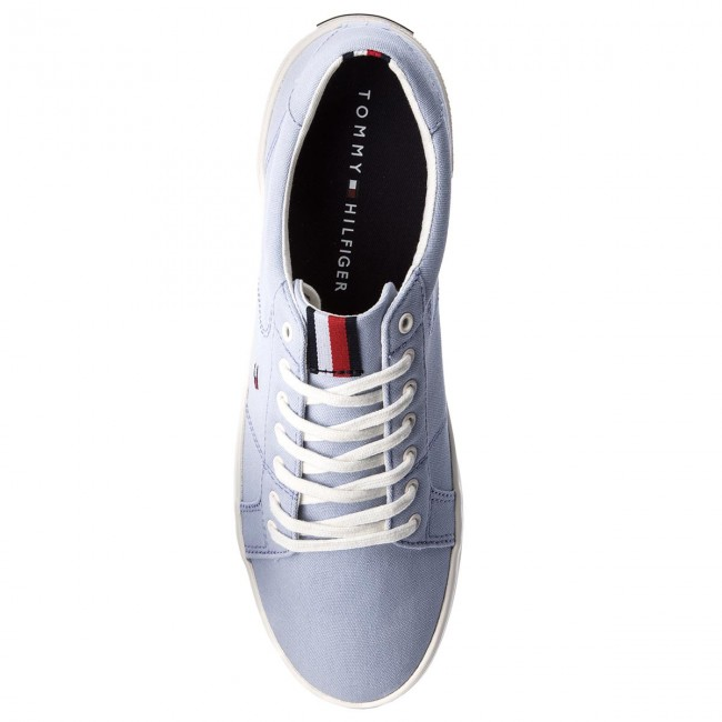 Turnschuhe TOMMY HILFIGER-Iconic Blue Long Lace TurnschuheFM0FM01669 Halogen Blue HILFIGER-Iconic 425 c630e1
