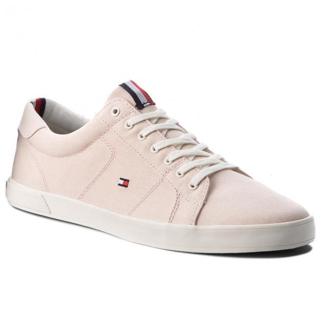 Turnschuhe TOMMY HILFIGER-Iconic Silver Long Lace Sneaker FM0FM01669 Silver HILFIGER-Iconic Peony 642 f47ec5