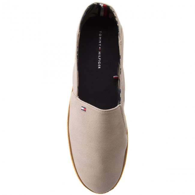 Halbschuhe TOMMY HILFIGER-Easy Summer Cobblestone Slip On FM0FM01803 Cobblestone Summer 068 01f492