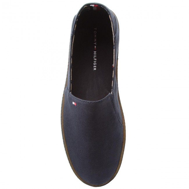Halbschuhe On TOMMY HILFIGER-Easy Summer Slip On Halbschuhe FM0FM01803 Midnight 403 c01b93