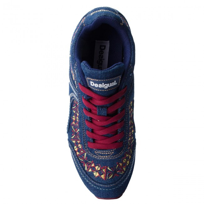 Sneakers DESIGUAL                                                      Galaxy Exotic Denim 18WSKD01 5053 16da89