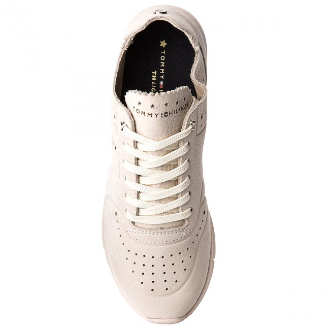 Sneakers TOMMY HILFIGER                                                      Nubuck Light Weight Sneaker FW0FW02986 Tapioca 639 db878a