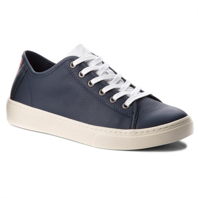 Sneakers EM0EM00103 TOMMY JEANS-Light Leather Low EM0EM00103 Sneakers Black Iris 431 7a7582