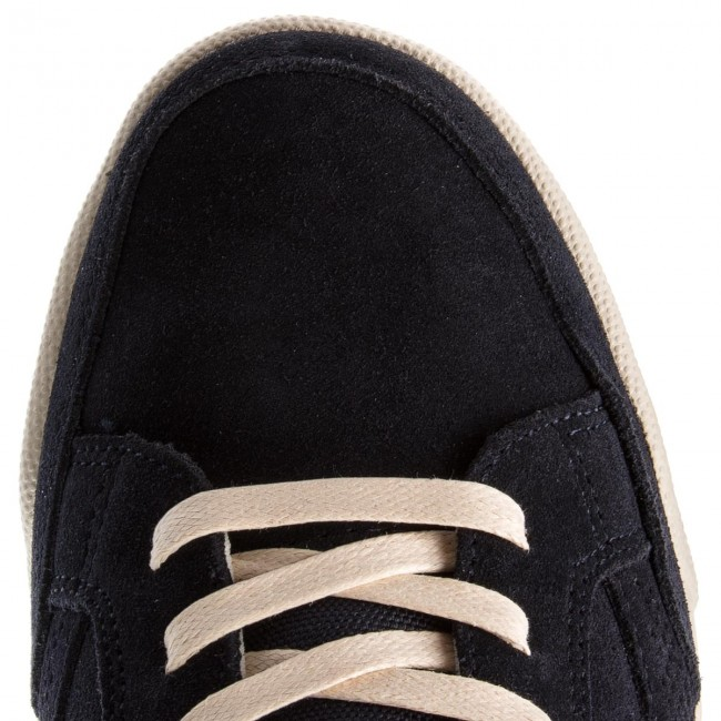 Sneakers Sneaker TOMMY HILFIGER-Corporate Detail Suede Sneaker Sneakers FM0FM01622  Midnight 403 740ec0