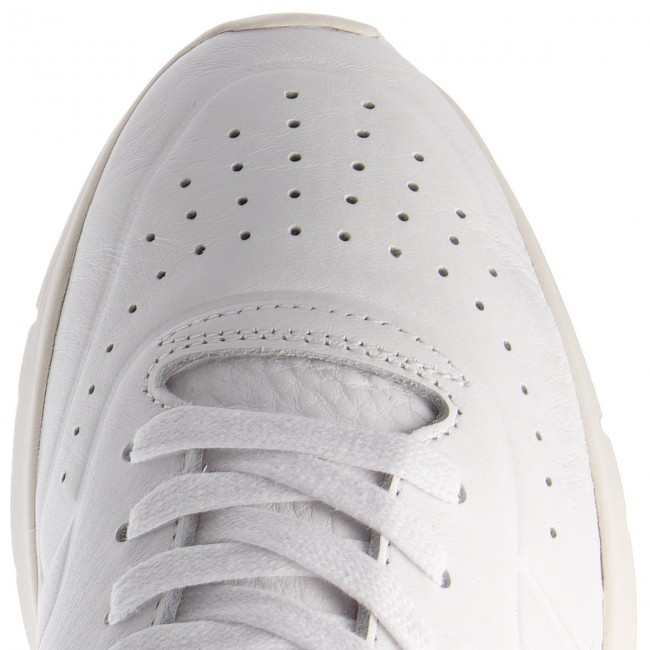 Sneakers TOMMY Runner HILFIGER-Unlined Th Light Leather Runner TOMMY FM0FM01630 White 100 1180c9