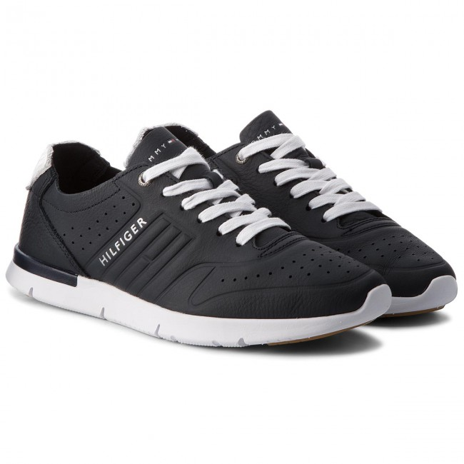 Sneakers TOMMY HILFIGER-Unlined Th Midnight Light Leder Runner FM0FM01630 Midnight Th 403 b42706