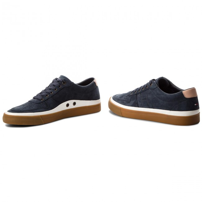 Sneakers TOMMY TOMMY Sneakers HILFIGER-Unlined Low Cut Nubuck Sneaker FM0FM01633 Midnight 403 814770