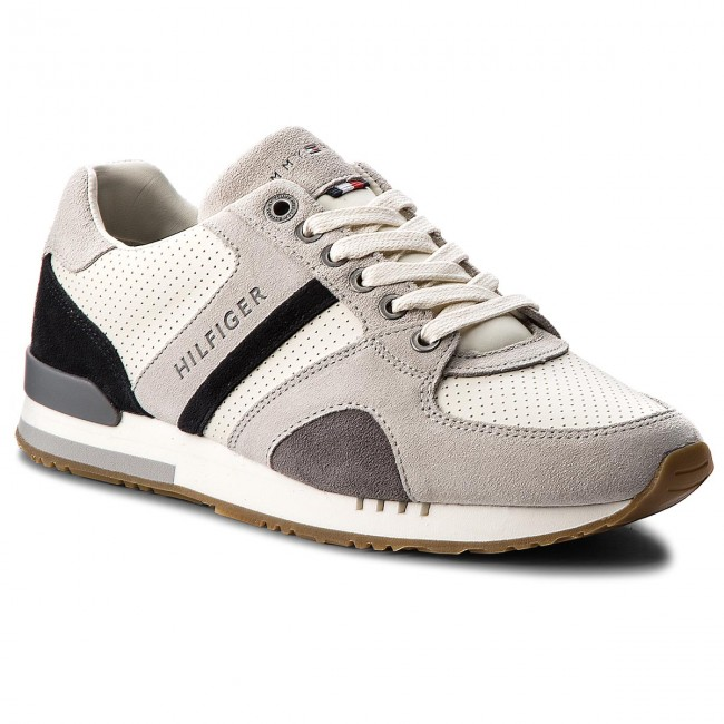 Sneakers TOMMY HILFIGER-New Iconic Casual Runner FM0FM01640  Ice 101