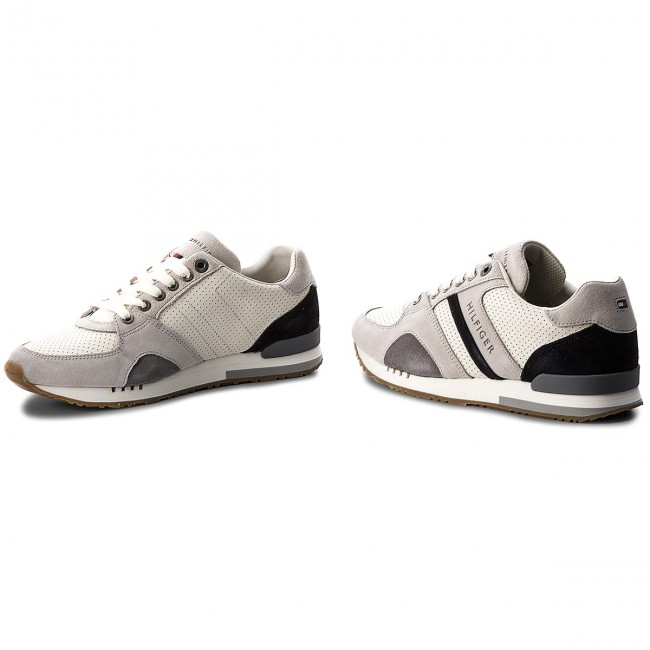 Sneakers Runner TOMMY HILFIGER-New Iconic Casual Runner Sneakers FM0FM01640  Ice 101 b1bc38