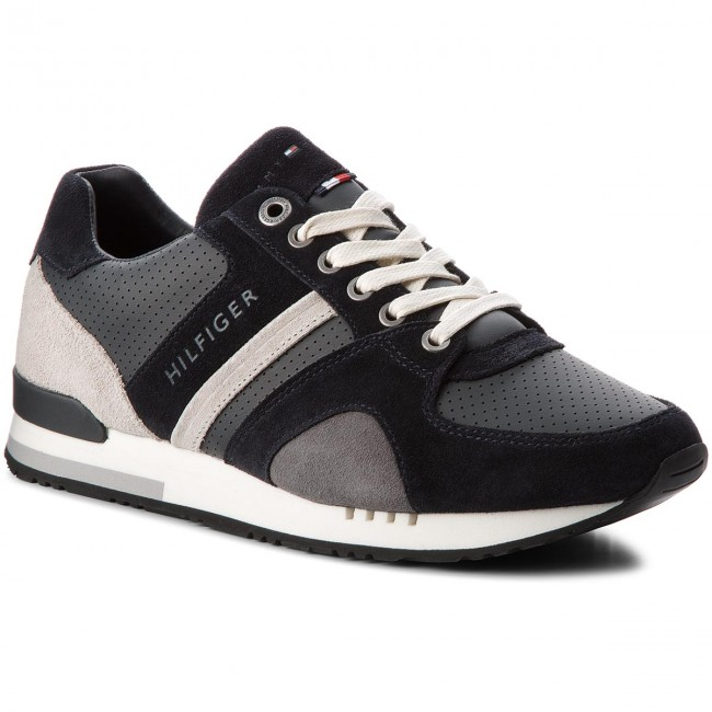 Sneakers TOMMY HILFIGER-New Iconic Casual Runner FM0FM01640 Midnight 403