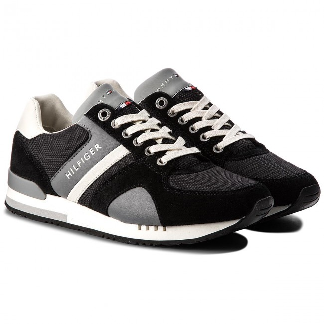 Sneakers TOMMY FM0FM01655 HILFIGER-New Iconic Sporty Runner FM0FM01655 TOMMY  Black 990 0860e6