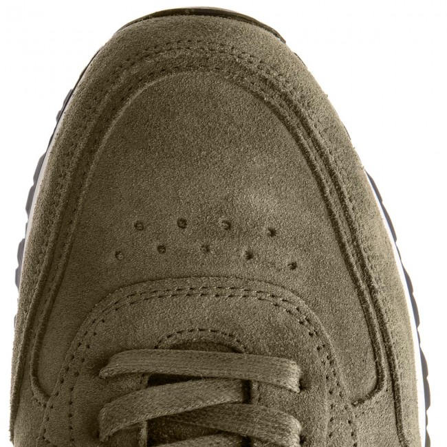 Sneakers TOMMY HILFIGER-Luxury Suede Olive Runner FM0FM01815 Dusty Olive Suede 011 c2ae8b