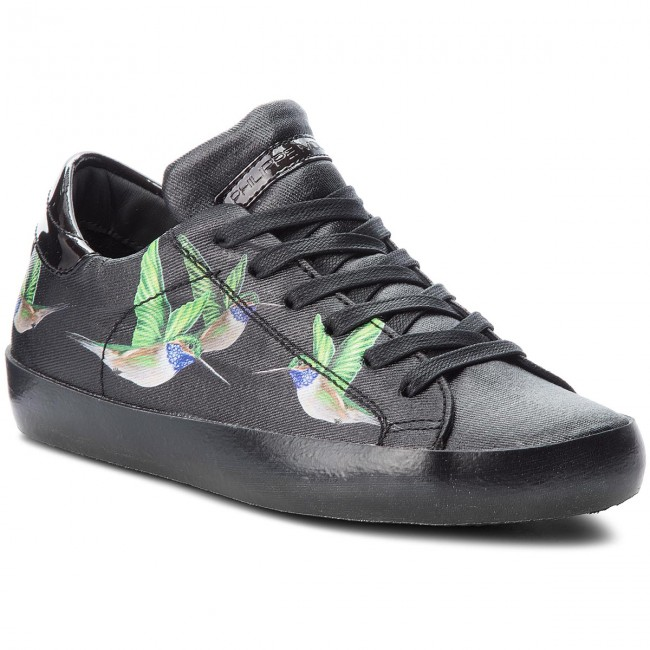 Turnschuhe PHILIPPE MODEL                                                      Paris Lamine CELD BM04 Tropical Birds Noir d9b501