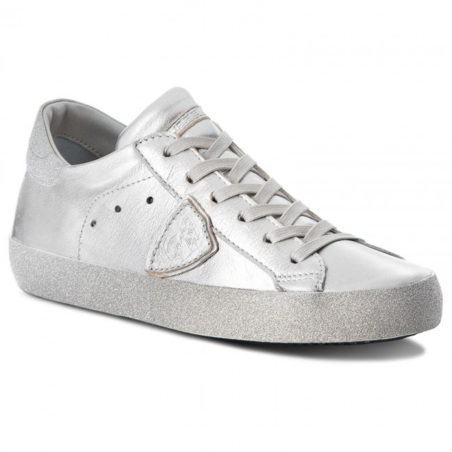 Sneakers PHILIPPE MODEL                                                      Paris Glitter CGLD ML24 Metal Argent e40712