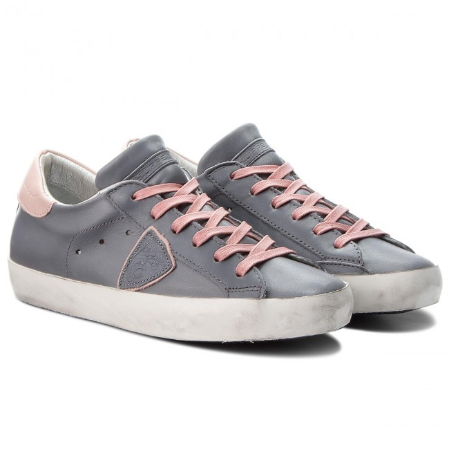 Sneakers PHILIPPE MODEL                                                      Paris CLLD V046 Veau Avion Rose 3b53e3