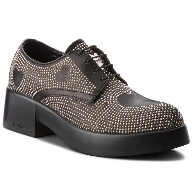 Oxfords LOVE MOSCHINO                                                      JA10055G16IA0000  Nero c149eb