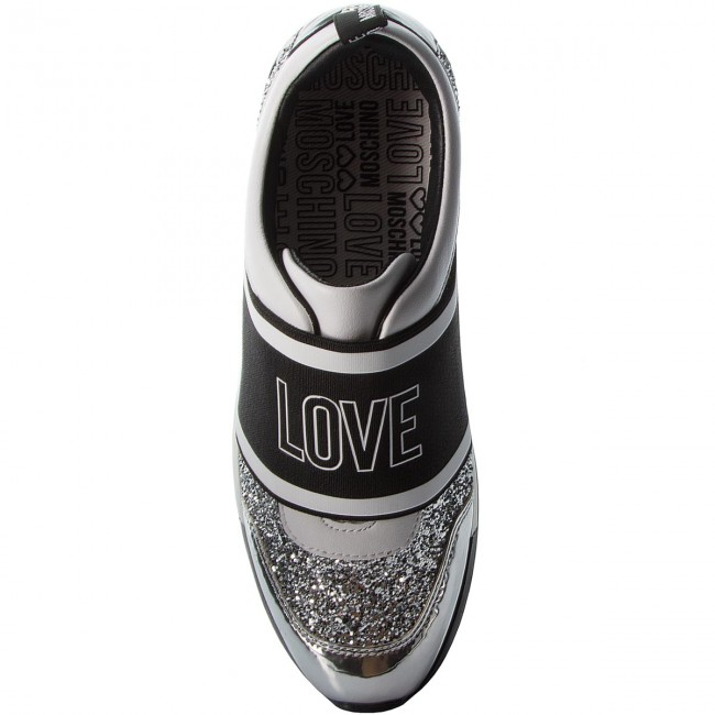 Sneakers LOVE  MOSCHINO     LOVE                                                JA15032G16IG090A Argento 1c5737