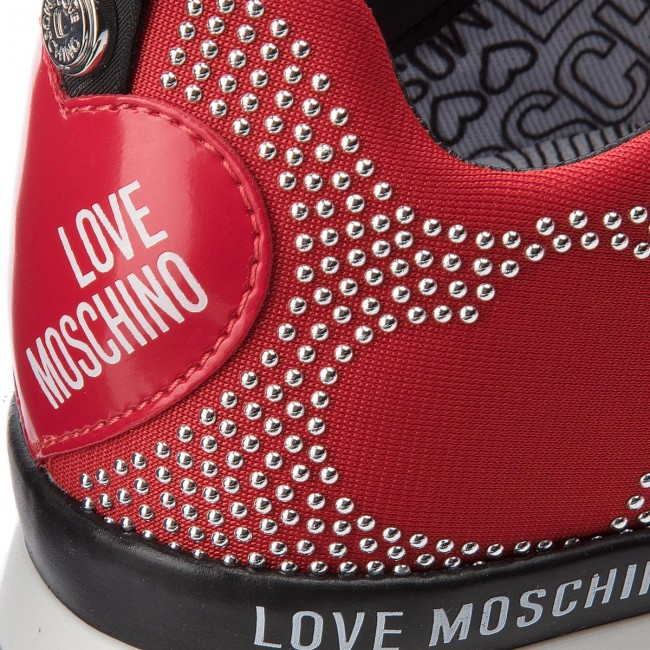 Turnschuhes LOVE LOVE LOVE MOSCHINO JA15042G16IH0500 Rosso 1d1016