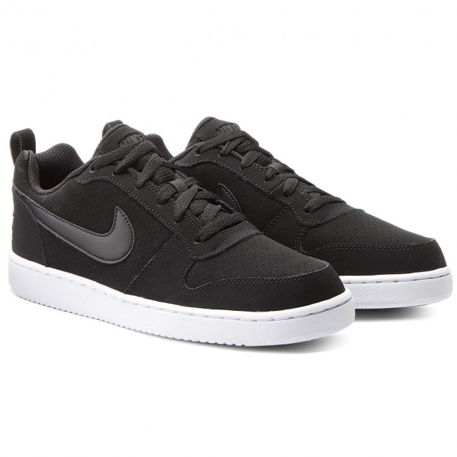 Schuhe Schuhe Schuhe NIKE-Court Borough Low 844905 001 Black/Black/White Werbe Schuhe 0e5674