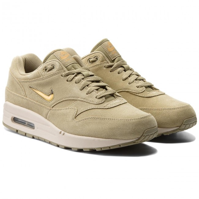 Schuhe NIKE-Air Max 1 Premium Sc 918354 201 Neutral Olive/Metallic Gold