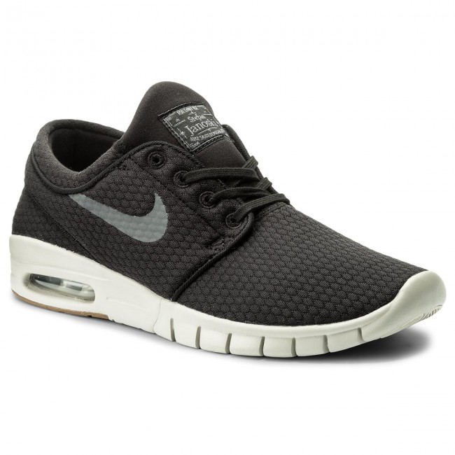 Schuhe NIKE-Stefan Janoski Max 631303 020 Black/Dark Grey/Gum Med Brown