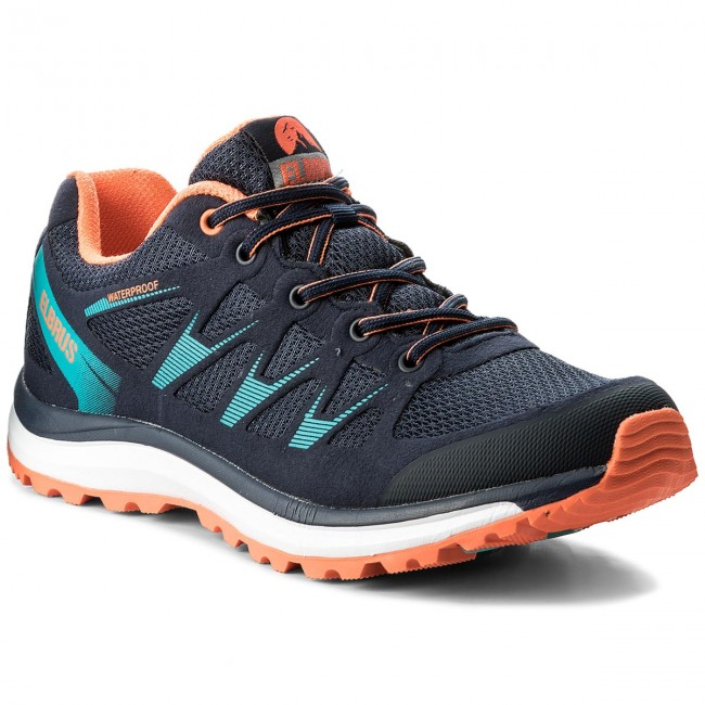Trekkingschuhe ELBRUS-Seminol Wp  Dark Navy/Blue/Orange