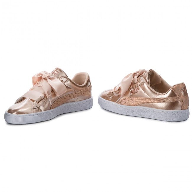 Sneakers PUMA                                                      Basket Heart Lunar Lux Jr 365993 02 Cream Tan 2329d6