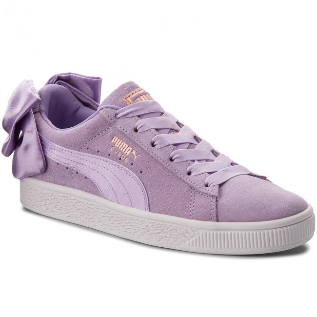 Sneakers PUMA                                                      Suede Bow Jr 367316 03 Purple Rose/Purple Rose 2568e9